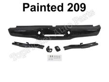 Painted 209 Black Rear Bumper Full Assy Hitch Bracket Pad For 1995 2004 Tacoma Fits 1998 Tacoma