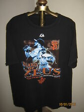 "BRIAN WILSON ""Beard of Zeus"" 2010 Men's Black Tee Shirt Size L 100% Cotton"