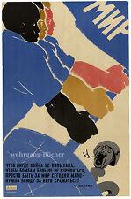 UDSSR Propaganda Plakat, Kommunistische Völker sichern den Weltfrieden um 1960