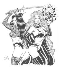 BILLY TUCCI'S SHI &LADY DEATH BY SEAN SHAW CONVENTION COMMISSION