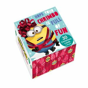 Minions Christmas Multipack of 30 Cards