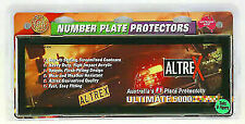 Altrex 6NL Black No Lines Number Plate Protector