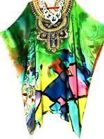 Kaftans / Mid-Long / Plus Size / Embellished /100% Viscose / Vibrant / RR$129.95