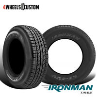 2 X New Ironman RB SUV 265/60R18 110H All-Season Traction Tire