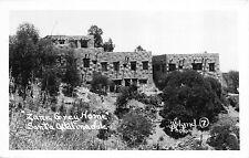 Real Photo Postcard Zane Grey House in Santa Catalina Island, California~111535