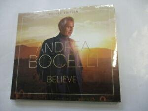 ANDREA BOCELLI - BELIEVE - CD SIGILLATO 2020 DIGIPACK DELUXE EDITION