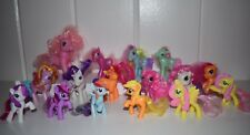 Lot of 16 MY LITTLE PONY McDonalds Toys MLP Brushable Hair Tails Ponies G3 G4