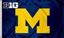Michigan Wolverines Big 10 Flag 3 X 5