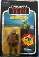 VINTAGE KENNER STAR WARS 1983 GAMORREAN GUARD 77 BACK MOC ANAKIN OFFER UNPUNCHED