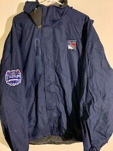 NHL Stadium Series Jacket New York Rangers Navy sz M
