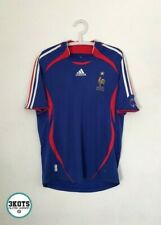 FRANCE 2006/07 Adidas Home Football Shirt M Mens Vintage Soccer Jersey Camiseta