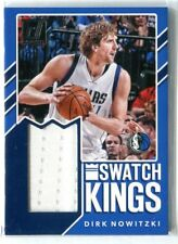 2017-18 Donruss Dirk Nowitzki Swatch Kings GU JERSEY RELIC MAVS MAVERICKS
