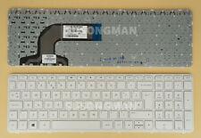 New UK Keyboard For HP Pavilon 15-E000 15-E 15-N000 15-N Series with Frame White