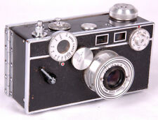 Argus C3 Standard Rangefinder Film Camera-Cintar 50mm Lens-Leather Case-Brick