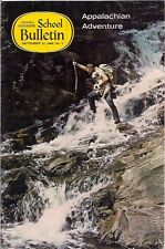 national geographic-SCHOOL BULLETIN-sept 22,1969-APPALACHIAN ADVENTURE.