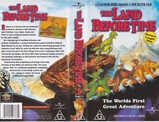 THE LAND BEFORE TIME VHS PAL VIDEO~  VOLUME 1