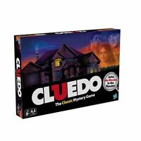 Children 2Hasbro Cluedo the Classic Mystery Board Game Fun Play Activity Toys