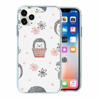 For Apple iPhone 11 PRO Silicone Case Hedgehog Pattern - S2251