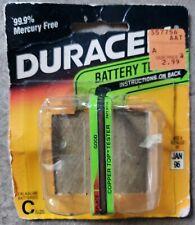 Duracell Battery Package Alkaline Power Tester Vintage Collectors Memorabilia