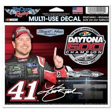 Kurt Busch 2017 Wincraft #41 Daytona 500 Winner 4.5x5.5 Multi Use Decal FREE