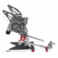 Per 2007-2008 DUCATI 1098/1098S Pedane Arretrate Regolabili Adjustable Rearsets