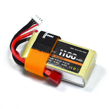 11.1V/3S 1100mAh 25C LiPO upgrade Battery T-plug burst 50C RC model Lipolymer
