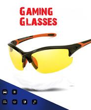 Anti Glare Vision HD Gamer Gaming Glasses Prevention Yellow Driver Night