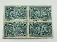 1908 Canada Very Fine Never Hinged Full Gum 97I Quebec Centennial Stamps B805
