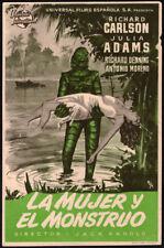 Creature from the Black Lagoon Original 1955 Spanish Herald from Spain