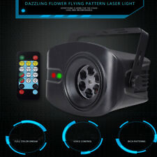 Us 48 Pattern Rgb Led Laser Projector Sound Active Stage Lighting Dj Party Light
