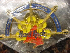 HARD ROCK CAFE*MADRID*FIVE (5) YEAR ANNIVERSARY*94-99*PIN*BRAND NEW IN BAG*MINT