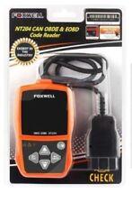Foxwell NT204 ENGINE LIGHT CODE READER SCAN TOOL Text & Graph LIVE Sensor Data