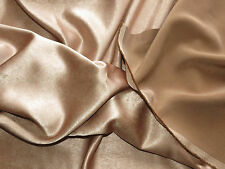 """Brown two sided plain fabric 140x150 cm (56x60"""") for curtain cushion craft"""