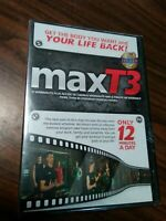 MaxT3 Exercise (DVD, Bonus Materials) Only 12 Minutes a Day 3 Levels(New/Sealed)