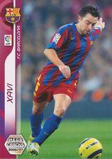 N°049 XAVI # FC.BARCELONA CARD PANINI MEGACRACKS LIGA 2007