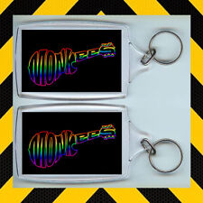 Monkees Retro TV  Keyring