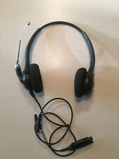 Plantronics HW-261 Supra+ Corded Binaural  Headset   w/ NEW Ear Cushions