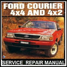 FORD COURIER - RANGER 1998-2006 PD-PE-PG series  WORKSHOP MANUAL