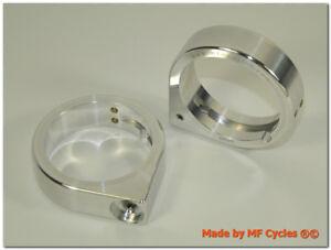 Blinkerhalter 49mm Gabelholme Telegabel Blinkeraufnahme Kellermann Micro Rhombus