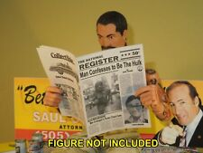 1/6 Scale Newspaper - National Register from Incredible Hulk TV Series