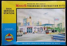AHM Minikits 5826  ESSO SERVICE GAS STATION Filling  1960s Kit Factory Sealed