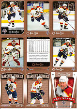 2006-07 OPC O-Pee-Chee Florida Panthers Complete Team Set (23)