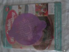 Deagostini Cake Decorating Magazine ISSUE 16 WITH FILIGREE CAKE TOPPER STENCIL