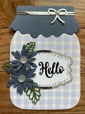 Any Occasion/Hello Handmade Greeting Card