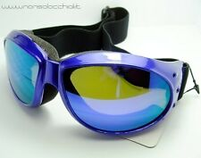 OCCHIALI DA SOLE GOOGLE ELIMINATOR PURPLE MOTO VESPA GLOBAL VISION USA SPORT
