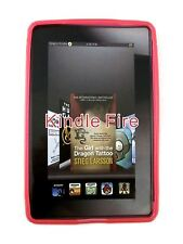 Roocase TPU Gel Skin Case Cover for Amazon Kindle Fire Tablet Pink