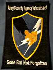 Army Security Agency Patch