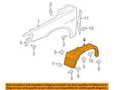 MITSUBISHI OEM 09-15 Lancer-Front Fender Liner Splash Shield Right 5370A738