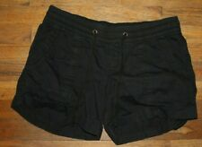 Old Navy Black Pull on Shorts- SIze Medium