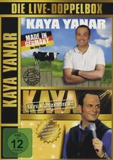 KAYA YANAR - MADE IN GERMANY-DIE LIVE-DOPPELBOX  2 DVD  COMEDY  NEU